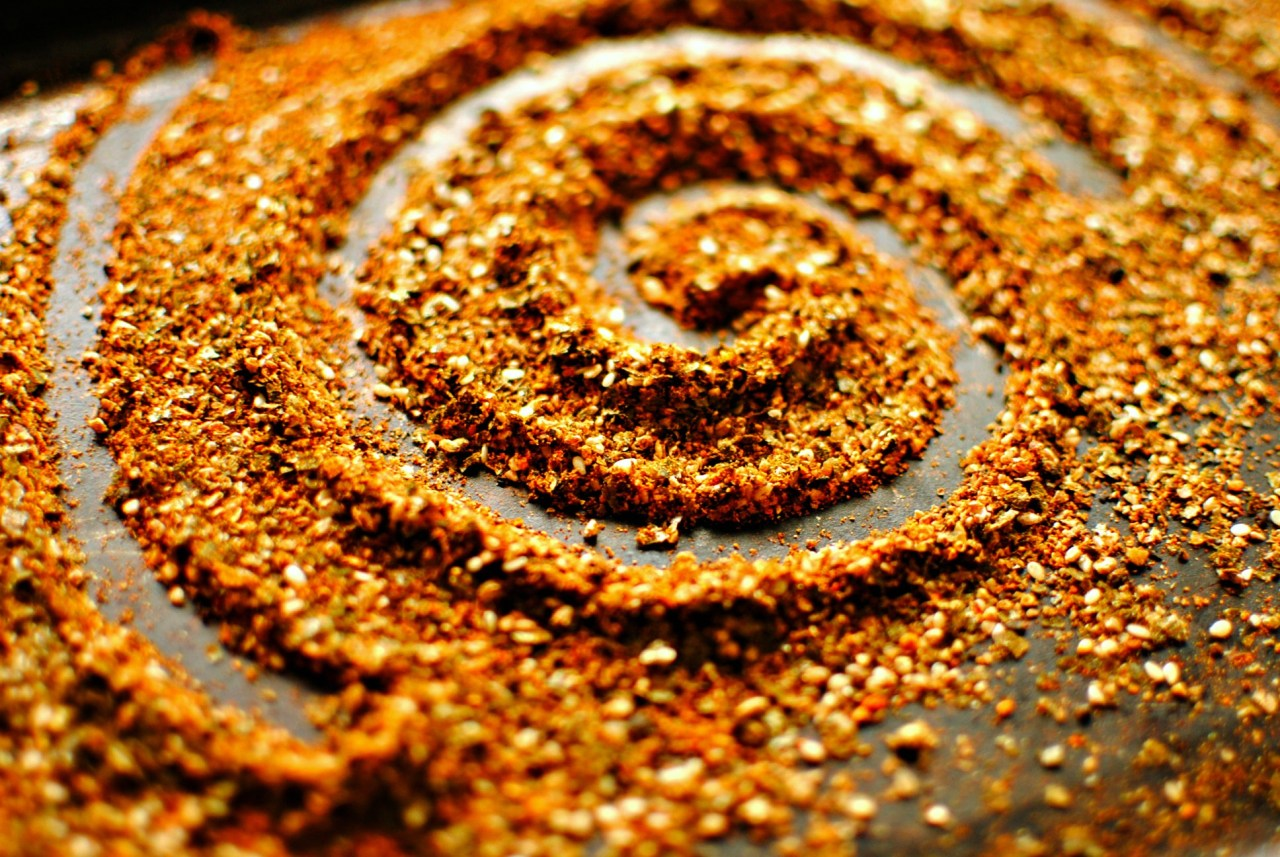 homemade togarashi spice and seed mix kelliesfoodtoglow.com