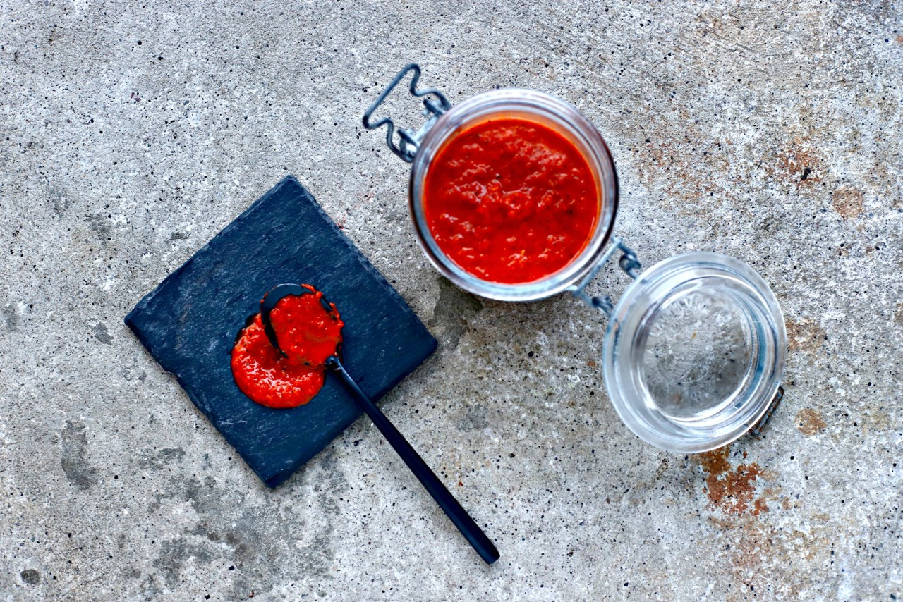 homemade piri piri sauce