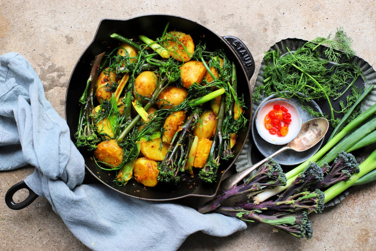 Vietnamese-style Tenderstem® Royale and Potatoes!