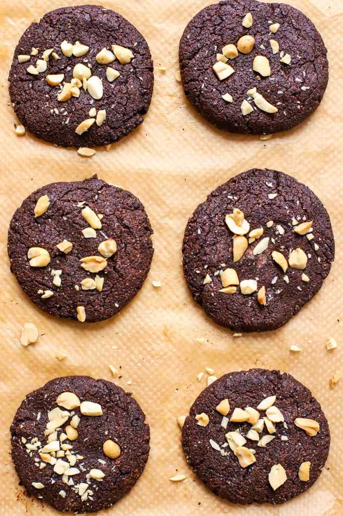 chocolate peanut butter cookies low carb