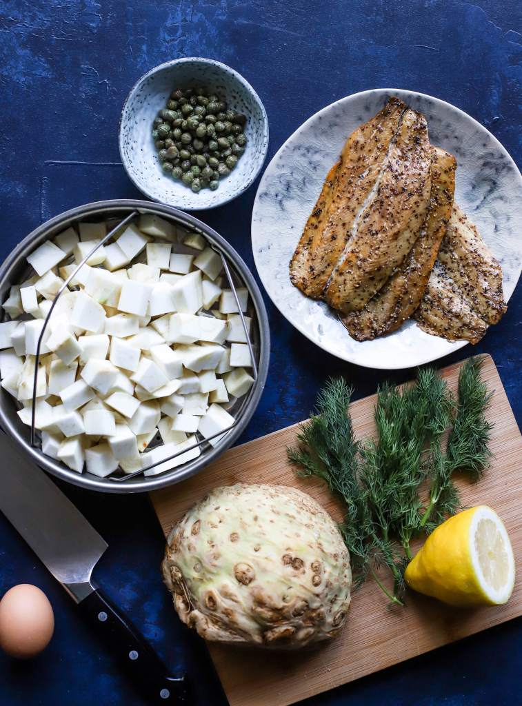smoked mackerel fishcake ingredients