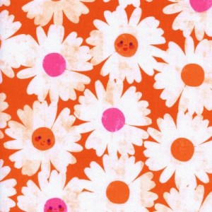 Happy Garden Orange Trinket by Melody Miller of Cotton and Steel
