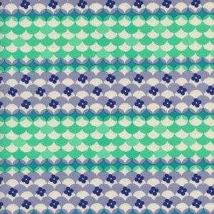 Gum Drop's Blue Trinkett by Melody Miller of Cotton and steel