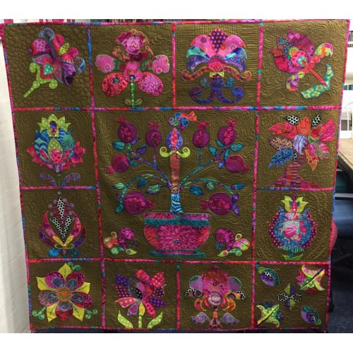Florielle Quilt Pattern Set by Tracey Lee