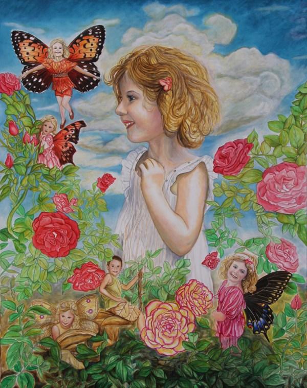 Fairy Paintings Kelli Fountain