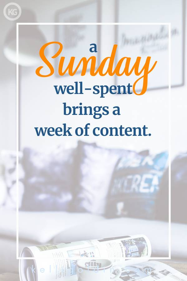faded image showing a depiction of my idea of a relaxing Sunday, including a sofa with pillows, a magazine and coffee cup