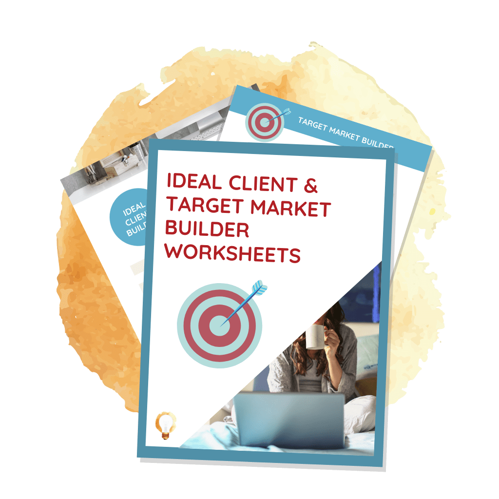 ideal client and target market worksheets