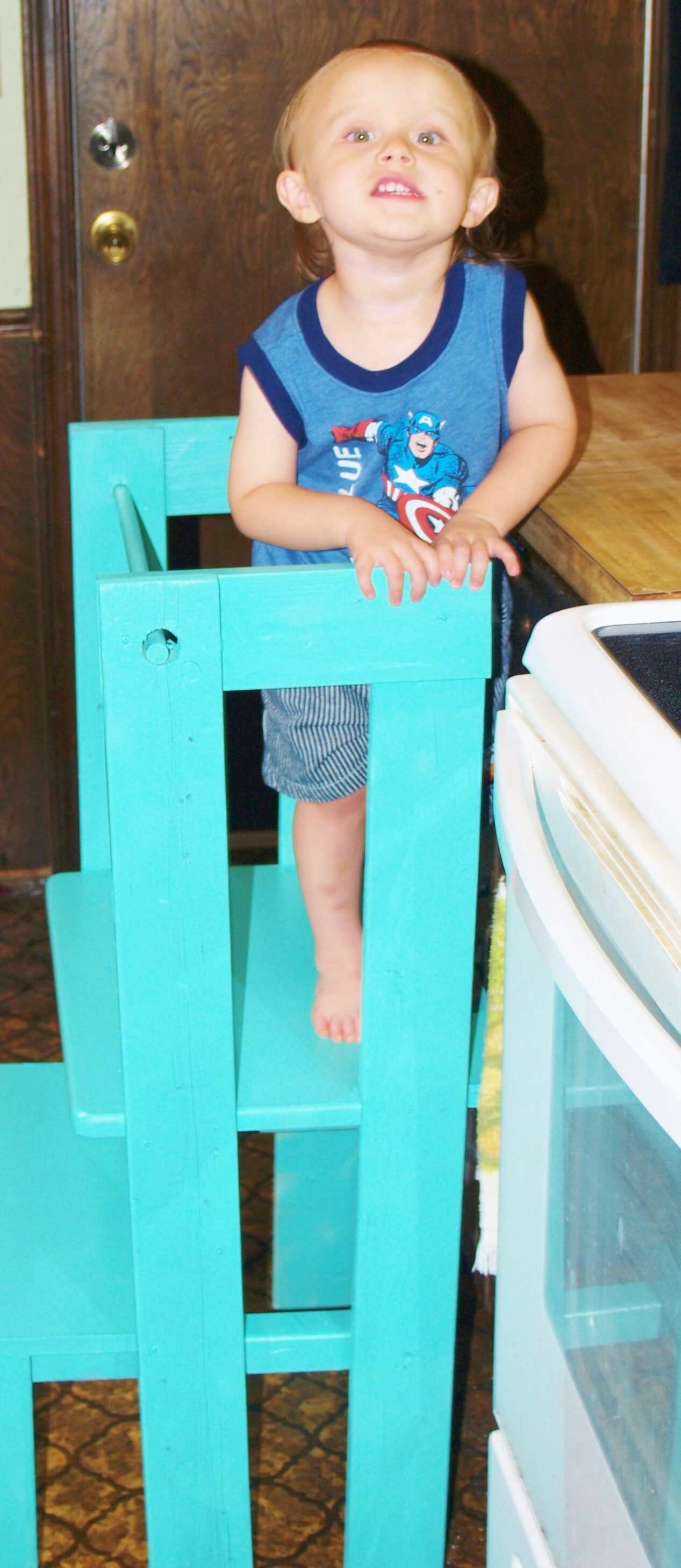 Activity Or Learning Tower With Wood List And Instructions