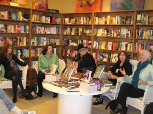 Orinda Bookstore with Cara Black, Diana Orgain, Penny Warner, Rhys Bowen