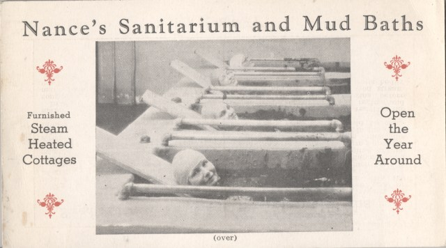 Postcard of Nance's Sanitarium