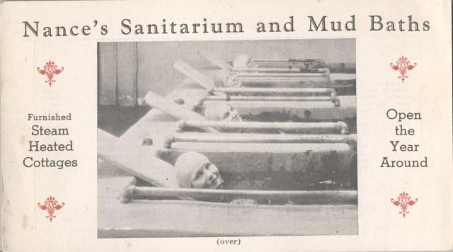 Postcard of Nance's Sanitarium