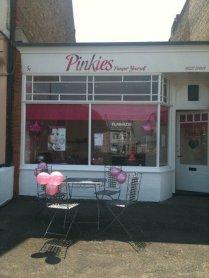 Pinkies salon Whitstable