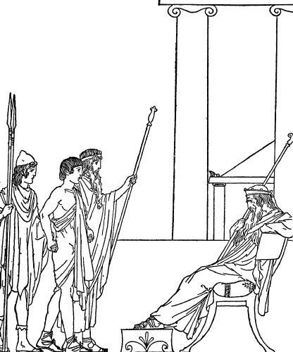 In the Odyssey Book 3, does anybody know where I can find