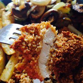 Spicy Coated Chicken. Recipe here: https://kellsslimmingworldadventure.wordpress.com/2015/07/26/recipe-spicy-coated-chicken/