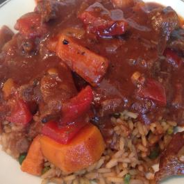 Caribbean Pepperpot Stew: https://kellsslimmingworldadventure.wordpress.com/2015/09/26/recipe-review-caribbean-pepperpot-stew/