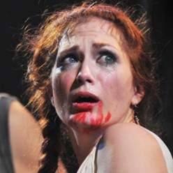 As Lavinia in Titus Andronicus