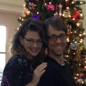 Kelly and Joel Christmas 2013
