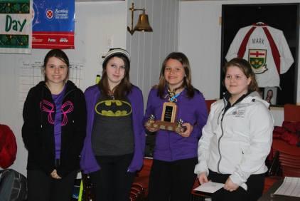 Bantem Spiel 2014 - 1st Flight Winners - Carleton Place