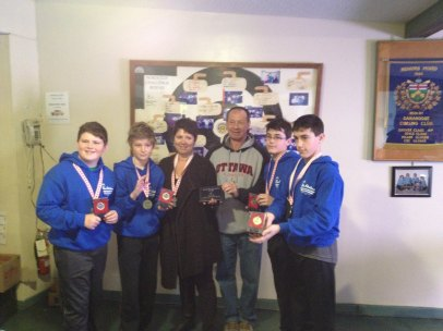 NGCC Timbits Elementary School Curling Team