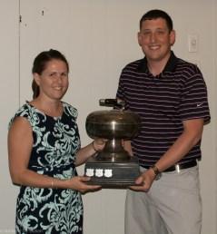 WCC Closing Banquet 2015 Spirit of Curling Award