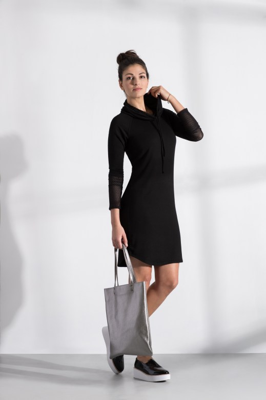 a shift to athleisure - discover peach - katie dress