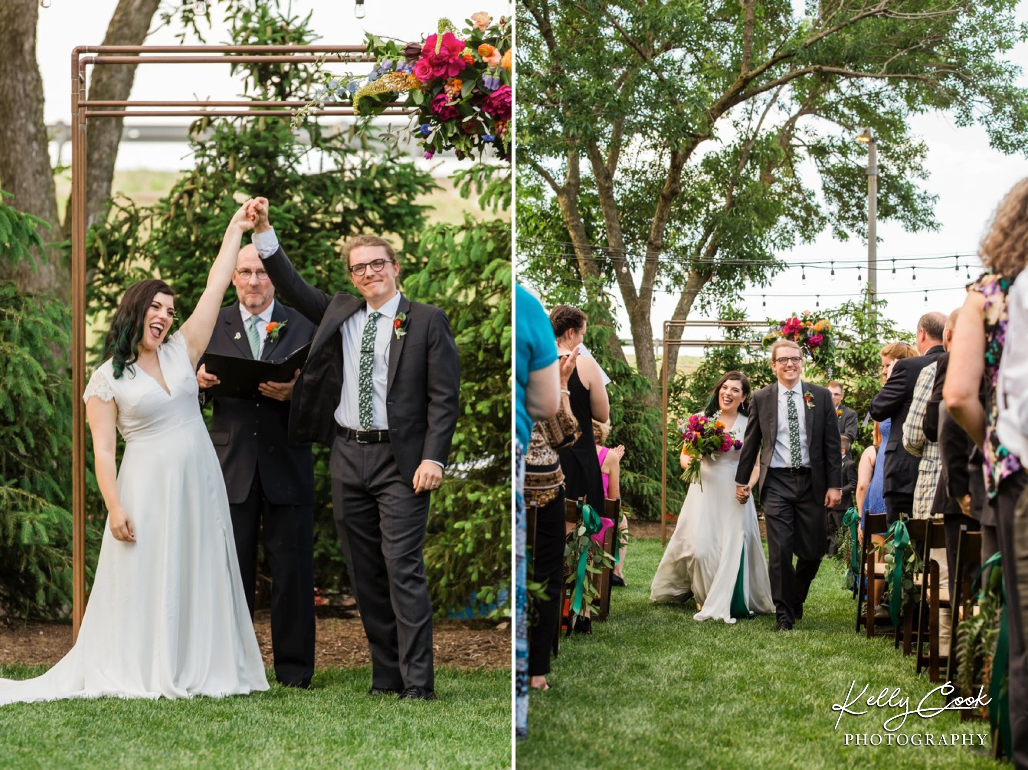 Wild Carrot wedding ceremony in St. Louis