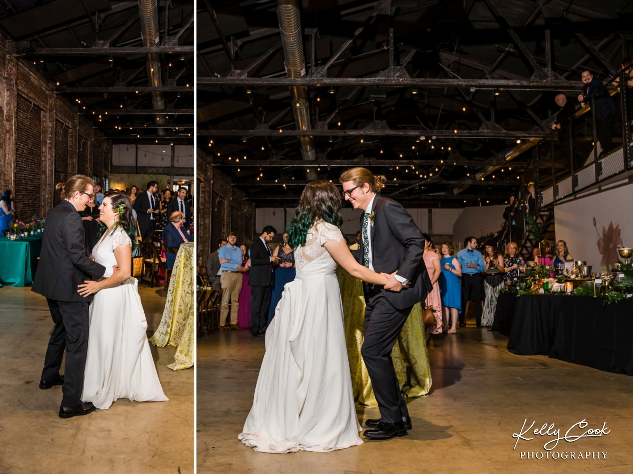 Couple's first dance at the Wild Carrot wedding in St. Louis