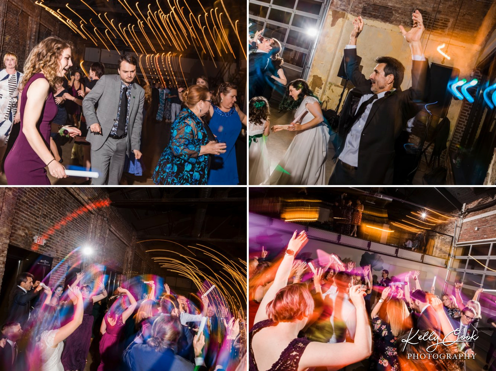 Fun dancing photos from a Wild Carrot wedding in St. Louis