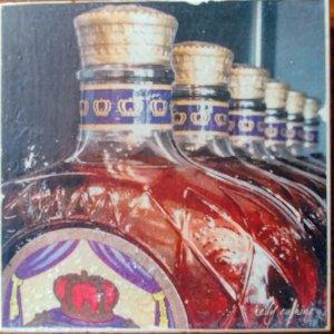 Crown Royal Whiskey Coaster