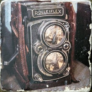 Vintage Rolleiflex Camera Coaster