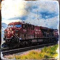 Kamloops CP Train Coaster