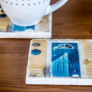 Houseboat Door Coaster