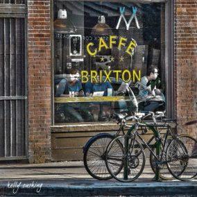 Caffe Brixton Coaster by Kelly Cushing