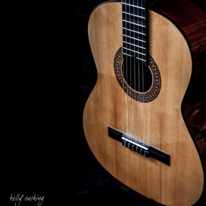 Guitar Body by Kelly Cushing