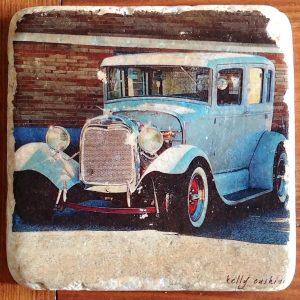 1930 Grey Model T Coaster
