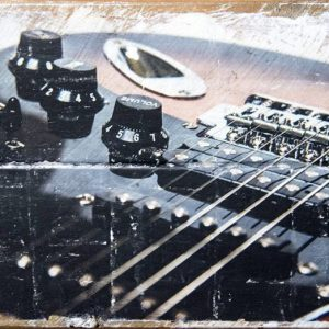 Electric Guitar Volume Control Wall Decor