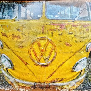 Volkswagen Bus Wall Decor by Kelly Cushing