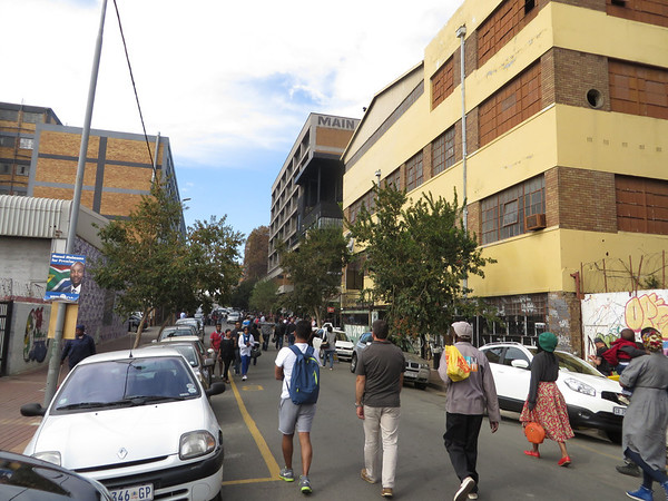 Fox Street in Maboneng