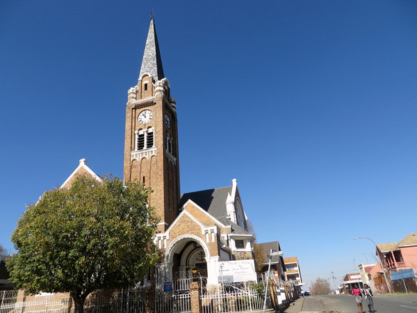 First Dutch Reformed Church in Joburg