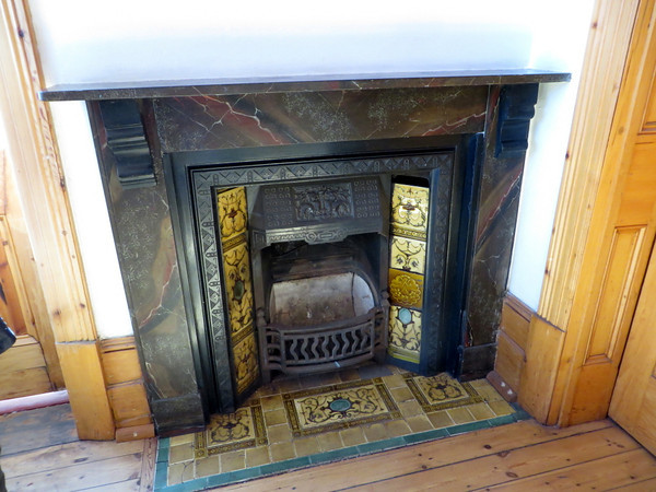 Art-Deco Fireplace