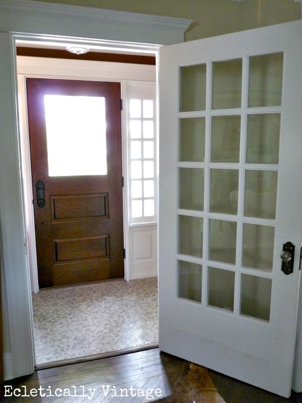 Cute Mint Green Wallpaper Entrance Vestibule Packs A Punch Reveal Kelly Elko