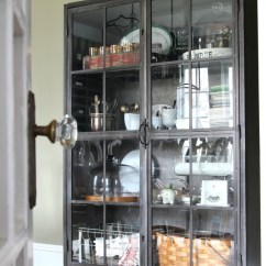 Black Kitchen Storage Cabinet Home Styles Island Spring House Decorating Tour