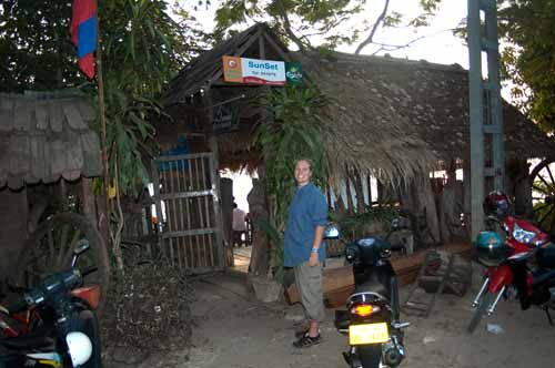 Sun Set bar, Vientiane, Laos