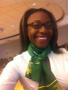 Courtney Neal // Kentucky State University // Major: Social Work // Sophomore