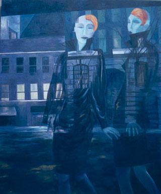 Mannequins Twilight by Jill Slaymaker