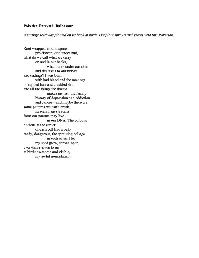 Marlin poem pdf
