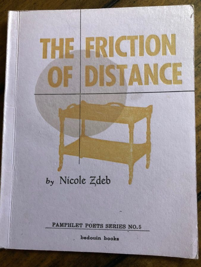 Friction of Distance NICOLE ZDEB