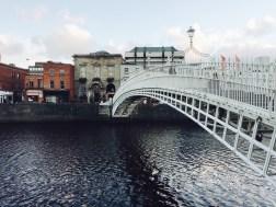 Dublin famous bridge