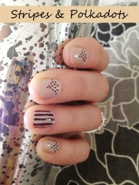 DIY Nail Designs with Sharpie Marker