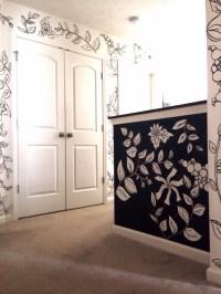 Black & White Sharpie Mural   Kelly Gene